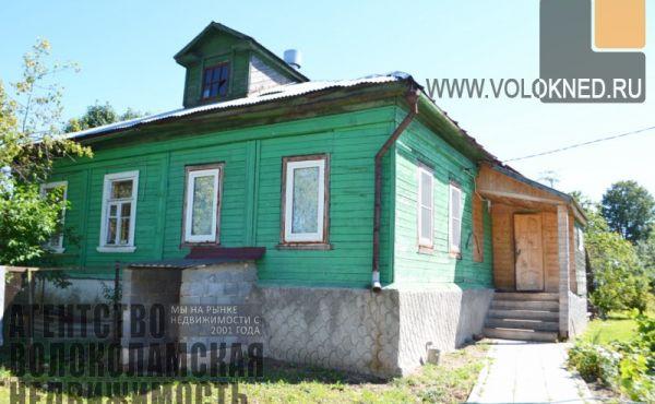 Полдома в селе Ярополец Волоколамского района